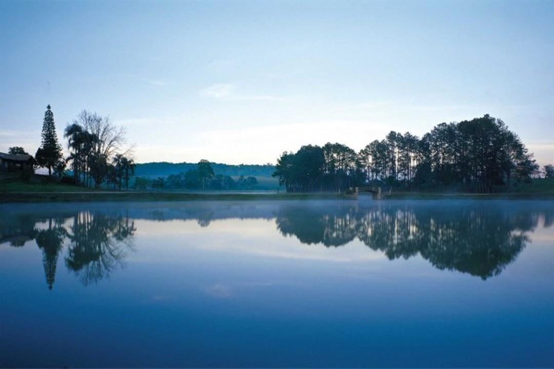 Preserção do meio ambiente Quinta da Baroneza: água e verde