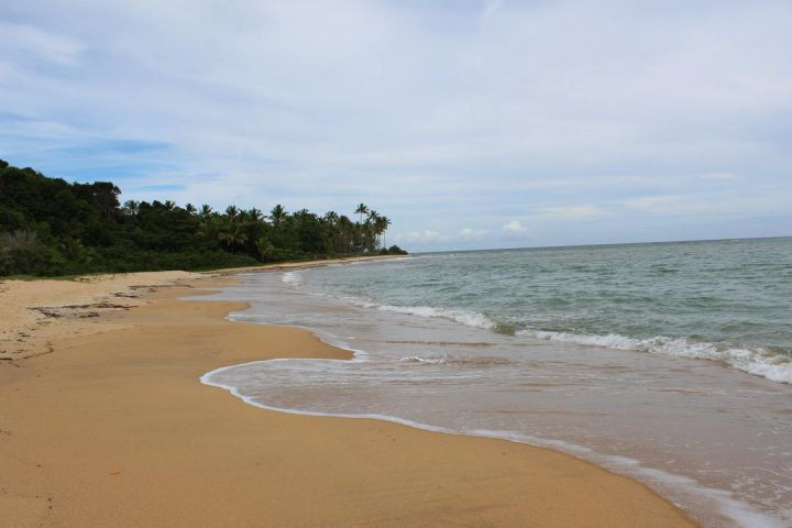 Praia no Litoral Sul da Bahia