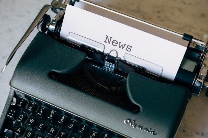 Novo em Trancoso: máquina de escrever