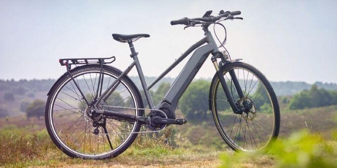 Imagem da Bike Shimano steps-e6100 na cor preta