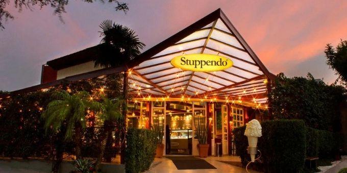 Fachada da sorveteria Stuppendo