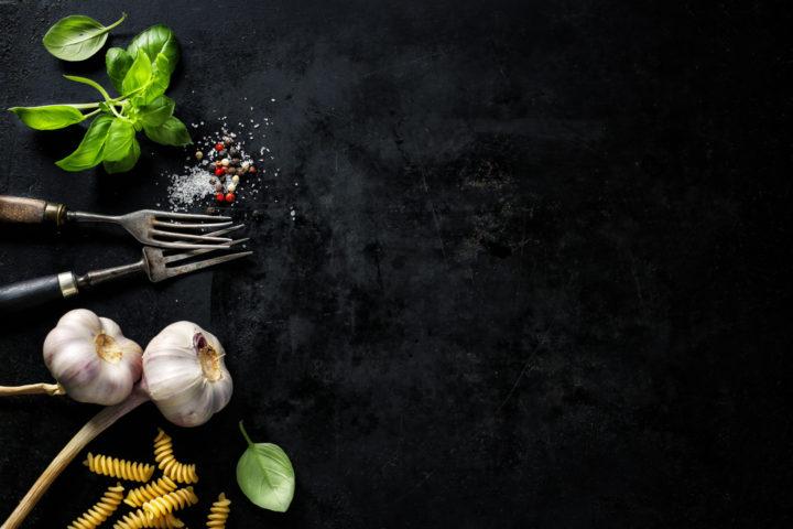 Restaurantes de qualidade: imagem de ingredientes para preparo de prato