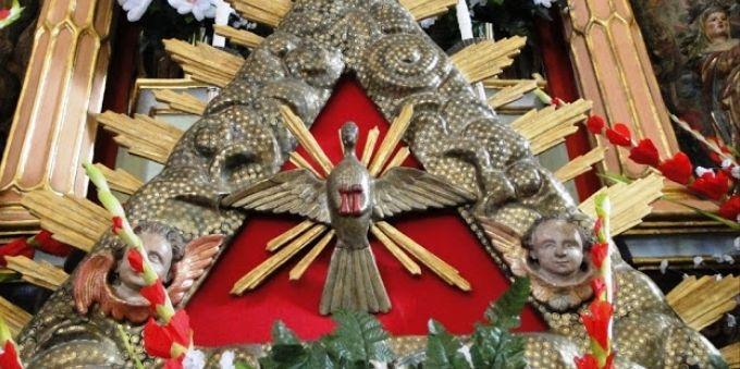 Angra dos Reis: imagem mostra símbolo da festa do divino