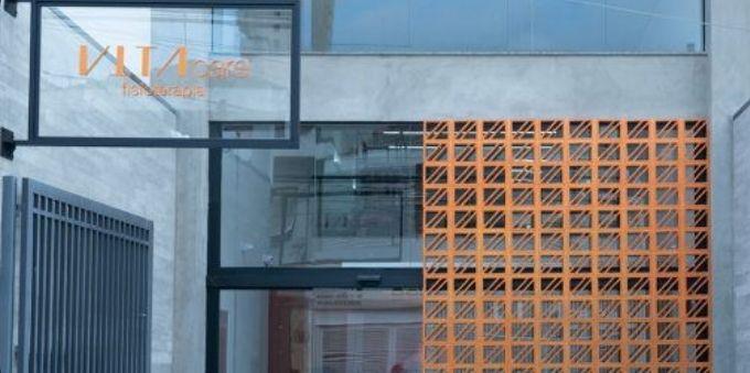 Morumbi e arredores: imagem mostra fachada do Instituto Vita, no estádio do SPFC