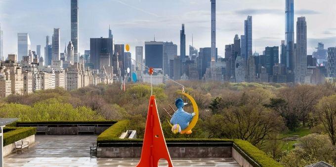 Nova York: imagem da vista do terraço do MET (Metropolitan Museum of Art)