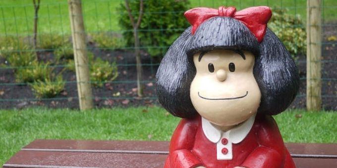 Buenos Aires: imagem de escultura da personagem Mafalda