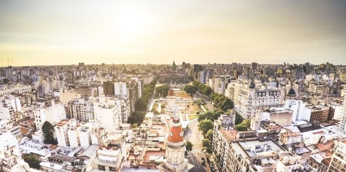 Buenos Aires: imagem diurna de vista geral de Buenos Aires