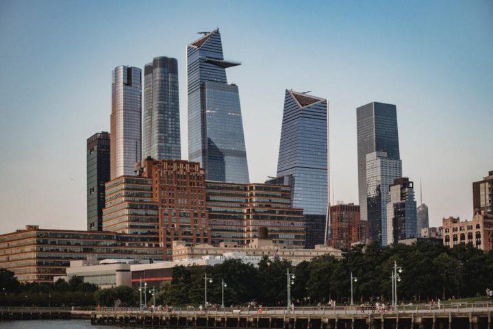 Nova York: imagem da vista do empreendimento Hudson Yards