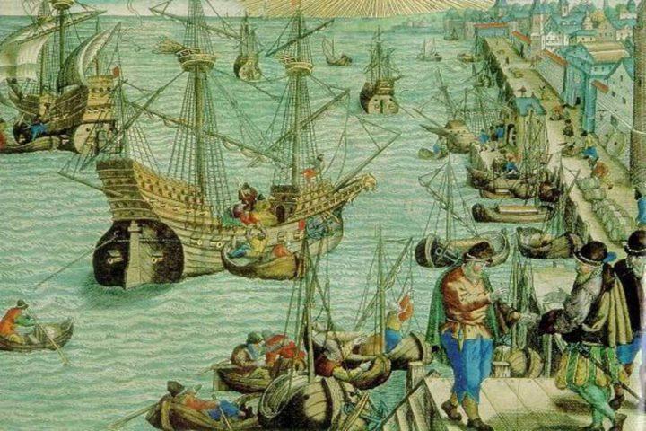 Imagem ilustrada mostra a origem da história de Buenos Aires, pela colonização