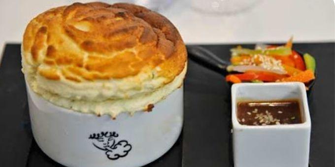 Imagem fechada mostra soufle especial de Paris